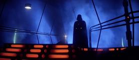 Vader confronting