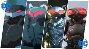 Black Manta Evolution Movies, Cartoons & Games (2018)