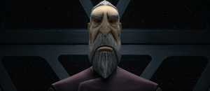 Dooku eyes shut