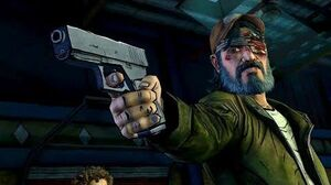 Kenny Kills Carver (Walking Dead Clementine Stays Death Telltale Games)