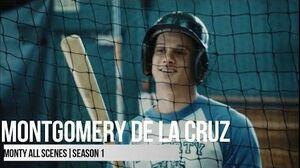 Montgomery All Scenes 13 Reasons Why Season 1 (2017)