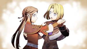 Young Dimitri and Edelgard