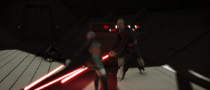 Dooku lowering