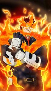 Enji Todoroki Smash Tap Character Art 2