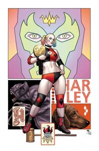 Harley Quinn Vol 3 73 Textless Variant