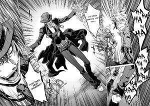 Hazama reveals himself