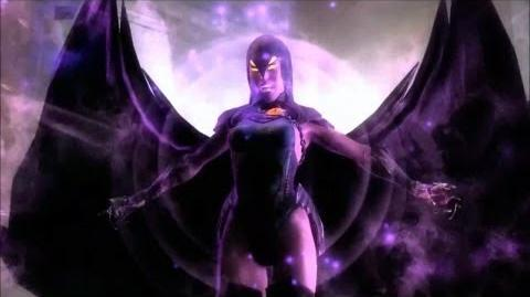 Injustice Gods Among Us Raven Super Move HD