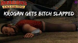 Krogan gets bitch slapped Race to the Edge S6-0