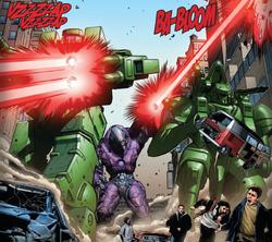 Skrull Automated War Machines (X-Men v3 29)