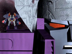 Starscream and Galvatron (The Sun)