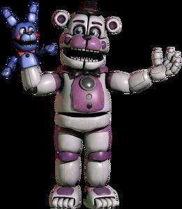 Funtime Freddy FNaFVR