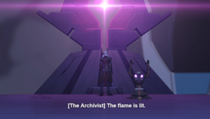 Lotor and the Archivist