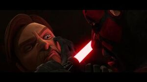 Star Wars Clone Wars Obi-Wan and Ventress VS Maul and Savage HD