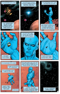 Doctor Manhattan on mars