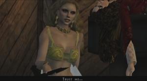 Marishka cross video game