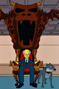 Mr. burns chair