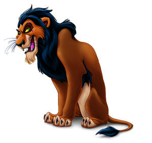 Scar lion