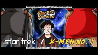 Star Trek X Men 1 - Atop the Fourth Wall