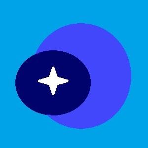 The Blue Cosmos Icon