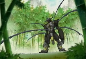 BlackWarGreymon defeated