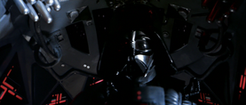 Darth Vader aims
