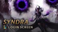 Syndra, the Dark Sovereign Login Screen - League of Legends