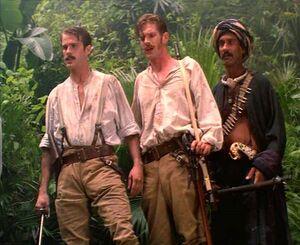 Boone, Wilkins & Buldeo Witnesses Tabaqui's Death