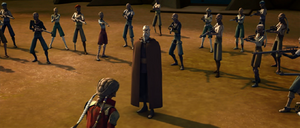 Count Dooku outnumbered