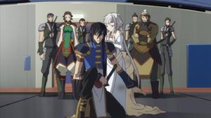 Empress Tianzi and loyalists (Code Geass Anime)