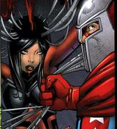 Kalinda in Jade Spider
