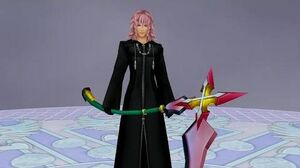 Kingdom Hearts 2 Data Marluxia Boss Fight (PS3 1080p)