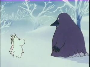 Moomin Speaks to the Groke