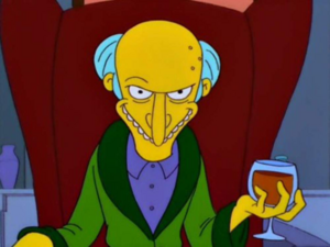 Mr. burns smile