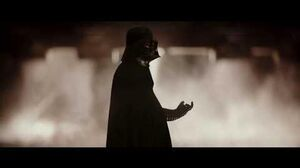 Rogue One A Star Wars Story Krennic visits Darth Vader at his Castle