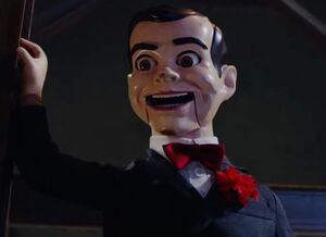 Slappy the Dummy in Haunted Halloween