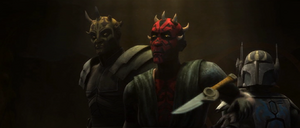 Darth Maul throwing