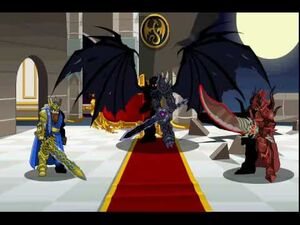 Drakath with Sepulchure and Alteon