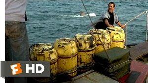 Jaws (1975) - Barrels Scene (5 10) Movieclips