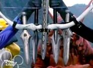 Mutant ranger pose 3 cannon