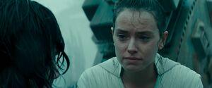 Rey's love confession to Ben 2