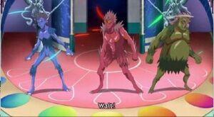Trio de major monsters