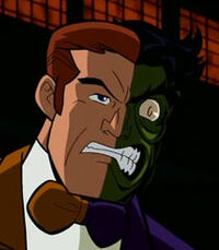 Two-face brave and the bold