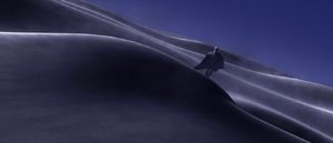 Count Dooku desert hill