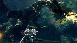 Dark Souls Black Dragon Kalameet Boss Fight (4K 60fps)