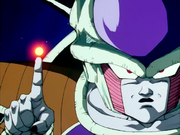 Frieza destroying Planet Vegeta