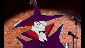 Hammer man villain sing scatman if spangebill