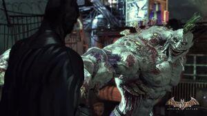 Batman-Arkham-Asylum-Wallpaper-yuiphone-Batman-And-Joker-Titan-Punch