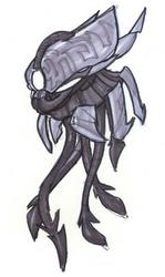 Squid head concept art