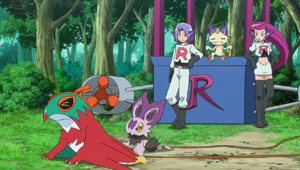 Team Rocket is Caught Hawlucha and Noibat