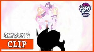 The Mane 6 Defeat King Sombra (The Beginning of the End) MLP FiM HD